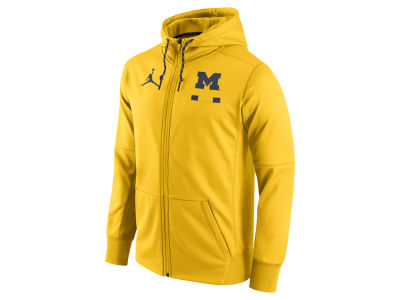 Michigan Wolverines Jordan NCAA Men's Therma Full-Zip Hoodie