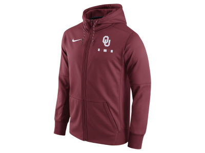 Oklahoma Sooners Nike NCAA Men's Therma Full-Zip Hoodie