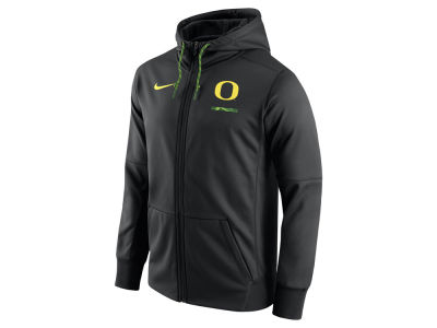 Oregon Ducks Nike NCAA Men's Therma Full-Zip Hoodie