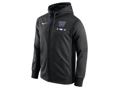 Washington Huskies Nike NCAA Men's Therma Full-Zip Hoodie