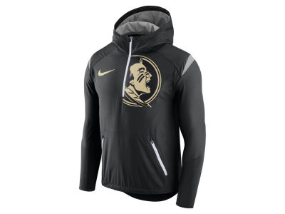 Florida State Seminoles Nike NCAA Men's Fly-Rush Hooded Quarter Zip