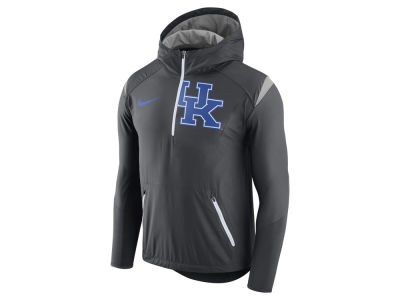 Kentucky Wildcats Nike NCAA Men's Fly-Rush Hooded Quarter Zip