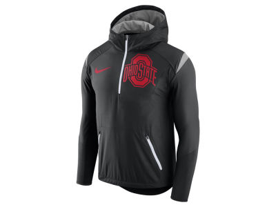 Ohio State Buckeyes Nike NCAA Men's Fly-Rush Hooded Quarter Zip