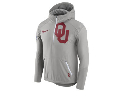 Oklahoma Sooners Nike NCAA Men's Fly-Rush Hooded Quarter Zip