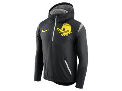 Oregon Ducks Nike NCAA Men's Fly-Rush Hooded Quarter Zip