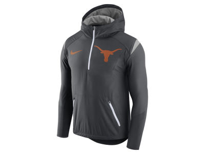 Texas Longhorns Nike NCAA Men's Fly-Rush Hooded Quarter Zip