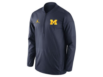 Michigan Wolverines Jordan NCAA Men's Lockdown Quarter Zip Pullover