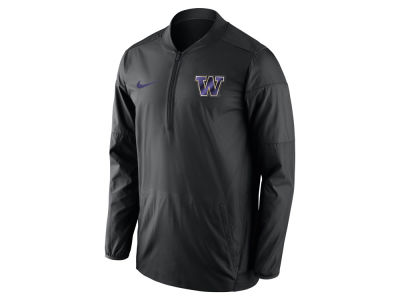 Washington Huskies Nike NCAA Men's Lockdown Quarter Zip Pullover
