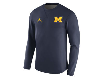 Michigan Wolverines Jordan NCAA Men's Modern Crew Sweatshirt