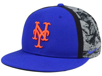 New York Mets Nike MLB True Players Cap