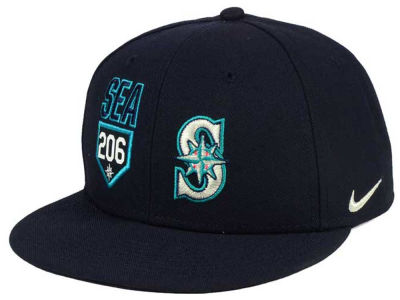 Seattle Mariners Nike MLB Verbiage True Cap