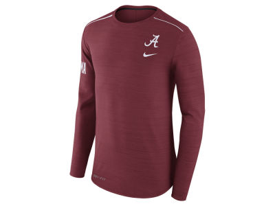 Alabama Crimson Tide Nike NCAA Men's Dri-Fit Breathe Long Sleeve T-Shirt