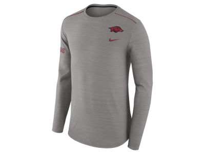 Arkansas Razorbacks Nike NCAA Men's Dri-Fit Breathe Long Sleeve T-Shirt