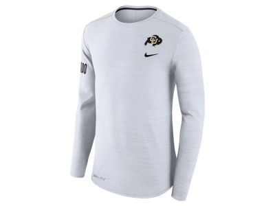 Colorado Buffaloes Nike NCAA Men's Dri-Fit Breathe Long Sleeve T-Shirt