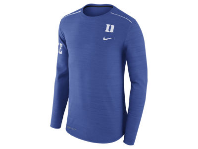 Duke Blue Devils Nike NCAA Men's Dri-Fit Breathe Long Sleeve T-Shirt