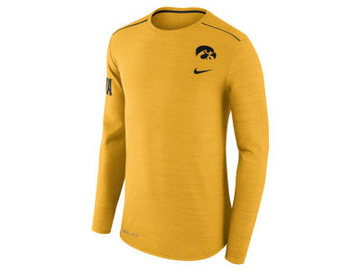 Iowa Hawkeyes Nike NCAA Men's Dri-Fit Breathe Long Sleeve T-Shirt
