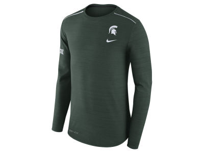 Michigan State Spartans Nike NCAA Men's Dri-Fit Breathe Long Sleeve T-Shirt