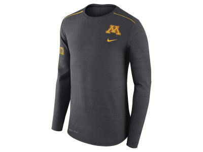 Minnesota Golden Gophers Nike NCAA Men's Dri-Fit Breathe Long Sleeve T-Shirt