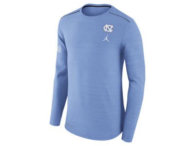 North Carolina Tar Heels Jordan NCAA Men's Dri-Fit Breathe Long Sleeve T-Shirt