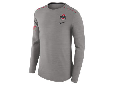 Ohio State Buckeyes Nike NCAA Men's Dri-Fit Breathe Long Sleeve T-Shirt