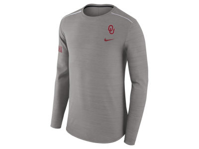 Oklahoma Sooners Nike NCAA Men's Dri-Fit Breathe Long Sleeve T-Shirt