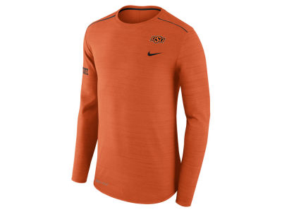 Oklahoma State Cowboys Nike NCAA Men's Dri-Fit Breathe Long Sleeve T-Shirt