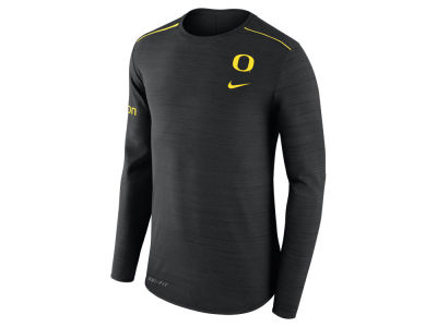 Oregon Ducks Nike NCAA Men's Dri-Fit Breathe Long Sleeve T-Shirt