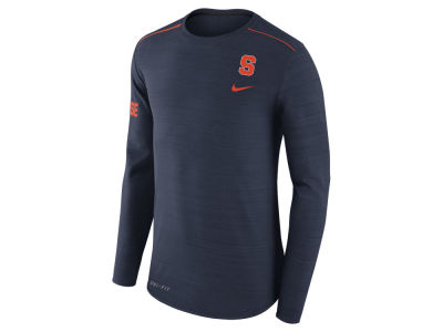 Syracuse Orange Nike NCAA Men's Dri-Fit Breathe Long Sleeve T-Shirt