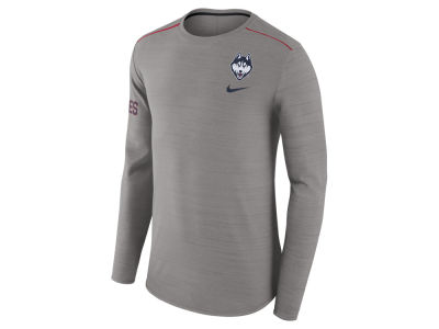 Connecticut Huskies Nike NCAA Men's Dri-Fit Breathe Long Sleeve T-Shirt