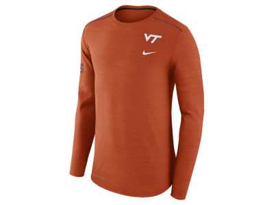 Virginia Tech Hokies Nike NCAA Men's Dri-Fit Breathe Long Sleeve T-Shirt
