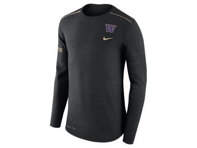 Washington Huskies Nike NCAA Men's Dri-Fit Breathe Long Sleeve T-Shirt