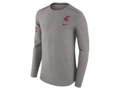 Washington State Cougars Nike NCAA Men's Dri-Fit Breathe Long Sleeve T-Shirt