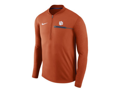 Clemson Tigers Nike NCAA Men's Coaches Quarter Zip