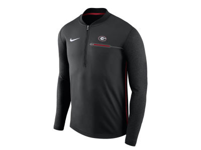 Georgia Bulldogs Nike NCAA Men's Coaches Quarter Zip