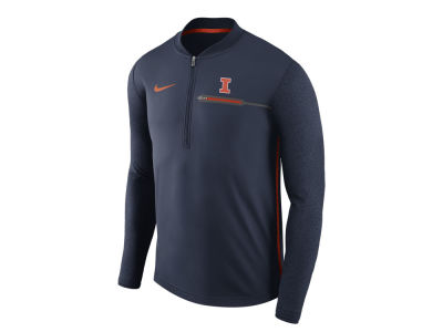 Illinois Fighting Illini Nike NCAA Men's Coaches Quarter Zip