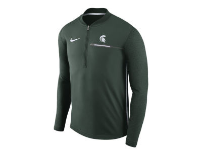 Michigan State Spartans Nike NCAA Men's Coaches Quarter Zip