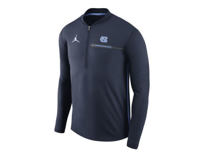 North Carolina Tar Heels Jordan NCAA Men's Coaches Quarter Zip