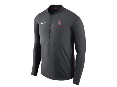 Oklahoma Sooners Nike NCAA Men's Coaches Quarter Zip