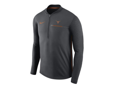 Texas Longhorns Nike NCAA Men's Coaches Quarter Zip