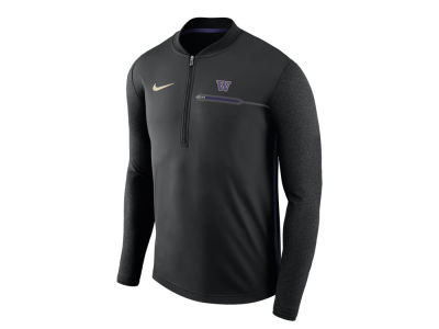 Washington Huskies Nike NCAA Men's Coaches Quarter Zip