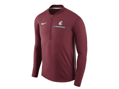 Washington State Cougars Nike NCAA Men's Coaches Quarter Zip
