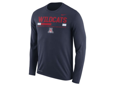 Arizona Wildcats Nike NCAA Men's Legend Sideline Long Sleeve T-Shirt