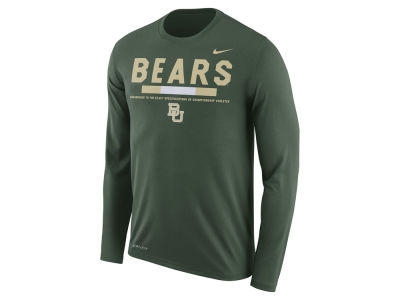 Baylor Bears Nike NCAA Men's Legend Sideline Long Sleeve T-Shirt