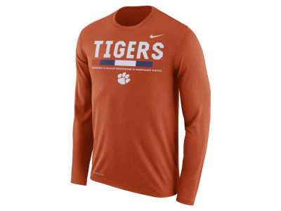 Clemson Tigers Nike NCAA Men's Legend Sideline Long Sleeve T-Shirt