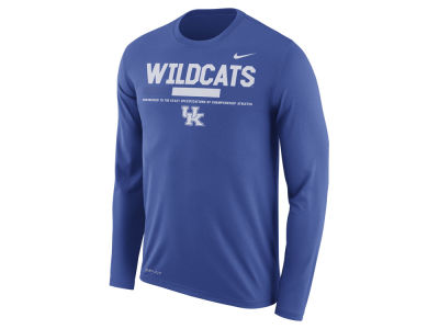 Kentucky Wildcats Nike NCAA Men's Legend Sideline Long Sleeve T-Shirt