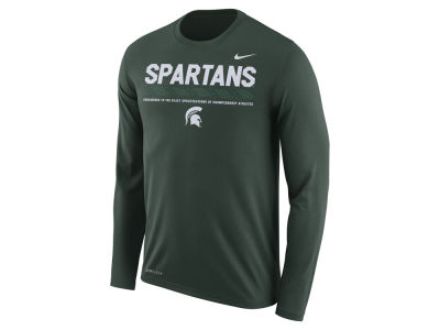 Michigan State Spartans Nike NCAA Men's Legend Sideline Long Sleeve T-Shirt