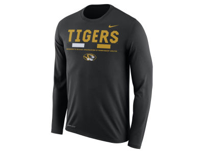 Missouri Tigers Nike NCAA Men's Legend Sideline Long Sleeve T-Shirt