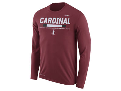 Stanford Cardinal Nike NCAA Men's Legend Sideline Long Sleeve T-Shirt