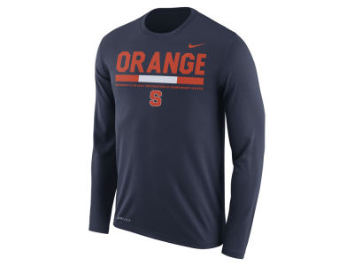 Syracuse Orange Nike NCAA Men's Legend Sideline Long Sleeve T-Shirt