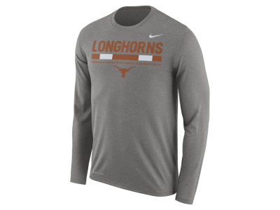 Texas Longhorns Nike NCAA Men's Legend Sideline Long Sleeve T-Shirt